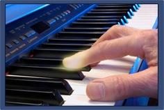 Cours de piano et clavier sur Workshop Live
