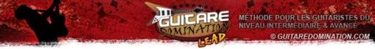 Volume 2 de la Méthode Guitare Domination Lead