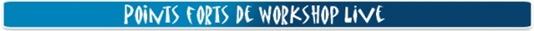 Points forts des cours de basse en ligne de Workshop Live