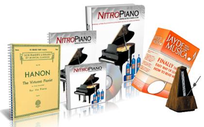 Le contenu de la méthode Nitro Piano