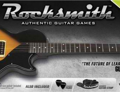 Incroyable : Ces jeux videos qui utilisent votre guitare comme manette…