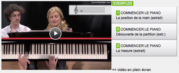 Cliquez ici pour voir les exemples de cours de piano en vidéo